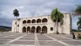 Alcazar de Colón, Plaza av Spanien. Santo Domingo,  Royaltyfri Foto