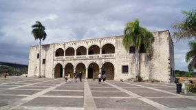 Alcazar de Colón, plaza de España. Santo Domingo,  foto de archivo libre de regalías