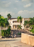 Alcazar de Colon in Santo Domingo, Caribbean Royalty Free Stock Photography