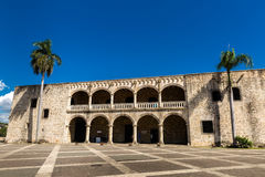 Alcazar de Colon in Santo Domingo, Dominican Republic Stock Photography