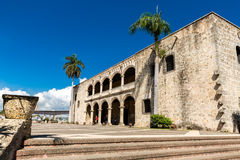 Alcazar de Colon in Santo Domingo, Dominikanische Republik Stockfoto