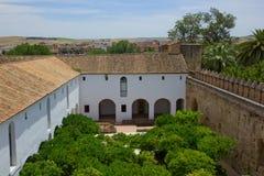 Alcazar de Cordoue, Espagne Images libres de droits