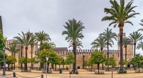 Alcazar de Cordoue, Espagne images stock