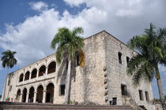 Alcazar de Dois pontos, República Dominicana Fotos de Stock Royalty Free