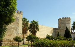 Alcazar de Jerez de la Frontera Royalty Free Stock Photo