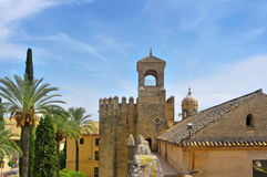 Alcazar de los Reyes Cristianos in Cordoba, Spain Stock Photography