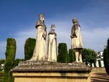 Alcazar de los Reyes Cristianos in Cordoba Stock Image