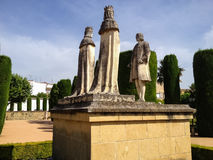 Alcazar de los Reyes Cristianos in Cordoba Royalty Free Stock Photography