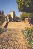Alcazar de los Reyes Cristianos Cordoba, Spain Royalty Free Stock Image