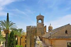 Alcazar de Los Reyes Cristianos in Cordoba, Spanien Stockfotografie