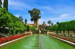 Alcazar de Los Reyes Cristianos in Cordoba, Spanien Lizenzfreies Stockfoto