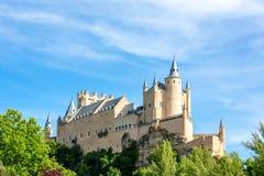 Alcazar de Ségovie Espagne Photographie stock libre de droits