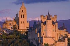 Alcazar de Segovia Photos libres de droits