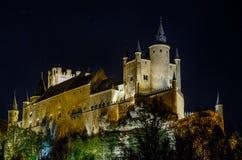 Alcazar de Segovia Photo libre de droits
