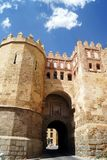 Alcazar de Segovia. Segovia Castle. Landscape of Segovia, Spain. stock photo