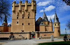 ALCAZAR DE SEGOVIA Stock Photography