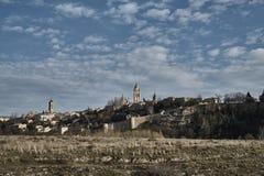 Alcazar de Segovia de la visión Fotografía de archivo libre de regalías