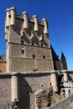 Alcazar de Segovia en Espagne Photo libre de droits