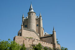 Alcazar de Segovia - España imagen de archivo