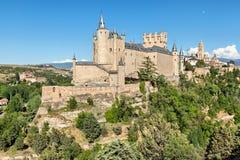 Alcazar de Segovia, Spain Royalty Free Stock Images