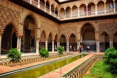 Alcazar de Sevilla Foto de archivo libre de regalías