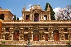 Alcazar de Sevilla Foto de archivo