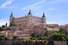 Alcazar de Toledo Fotografia de Stock