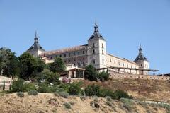 Alcazar de Toledo, Espanha Fotografia de Stock