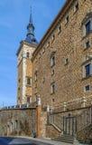 Alcazar de Toledo, Espanha Imagens de Stock