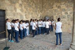 Alcazar del Alcázar de Colón o Columbus Fotografia Stock Libera da Diritti