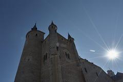 Alcazar del castillo de las torres Foto de archivo libre de regalías