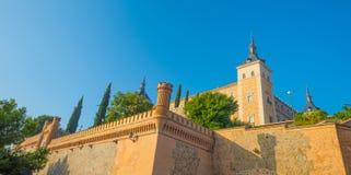Alcazar der Stadt von Toledo Lizenzfreie Stockfotos
