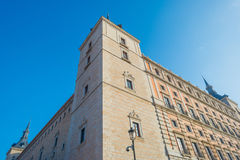 Alcazar der Stadt von Toledo Stockbild