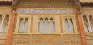 Alcazar detail Royalty Free Stock Image