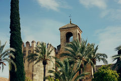 Alcazar detail in Cordoba, Spain Stock Photography