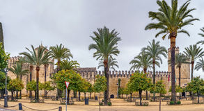 Alcazar di Cordova, Spagna immagini stock