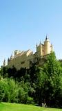 Alcazar di Segovia Fotografie Stock