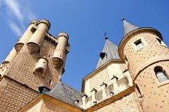 Alcazar di Segovia Immagini Stock Libere da Diritti