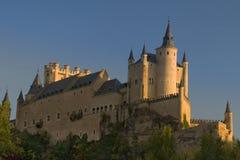 Alcazar di Segovia (castello di Segovia) Fotografia Stock Libera da Diritti