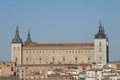 Alcazar di Toledo Fotografie Stock