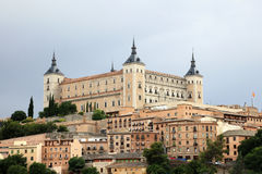 Alcazar di Toledo, Spagna Fotografia Stock