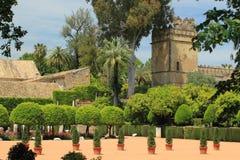 Alcazar en Córdoba Imagenes de archivo