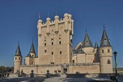 Alcazar en Segovia Foto de archivo libre de regalías