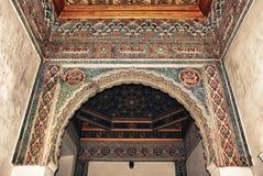 Alcazar en Sevilla Fotos de archivo