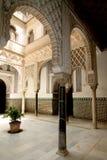 Alcazar en Sevilla Imágenes de archivo libres de regalías