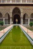 Alcazar en Sevilla Fotografía de archivo