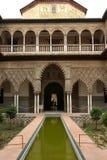 Alcazar en Sevilla Imagen de archivo