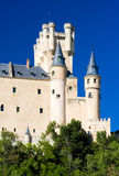 Alcazar fortress, Segovia Royalty Free Stock Photos
