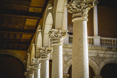 Alcazar, fortress, Tourism, Toledo, most famous city in spain Stock Photography