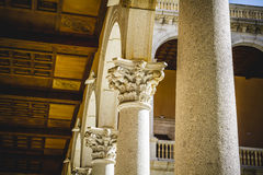 Alcazar, fortress, Tourism, Toledo, most famous city in spain Royalty Free Stock Photography